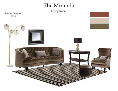 The Miranda Living Room From $7.99 & Up For Full Bundle - InteriorDesignsToGo.com