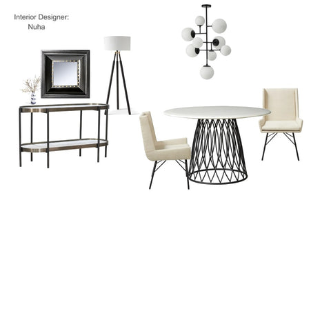The Modern Oasis Dining Room From $525.00 & Up For Full Bundle - InteriorDesignsToGo.com