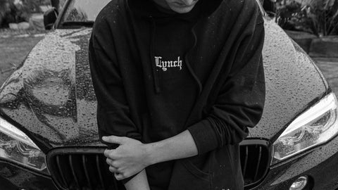 LYNCH v3 EXCLUSIVE HOODIE - BLACK
