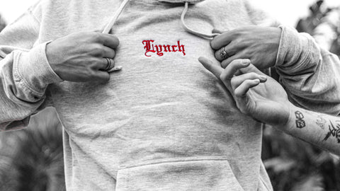 LYNCH v3 EXCLUSIVE HOODIE - GREY