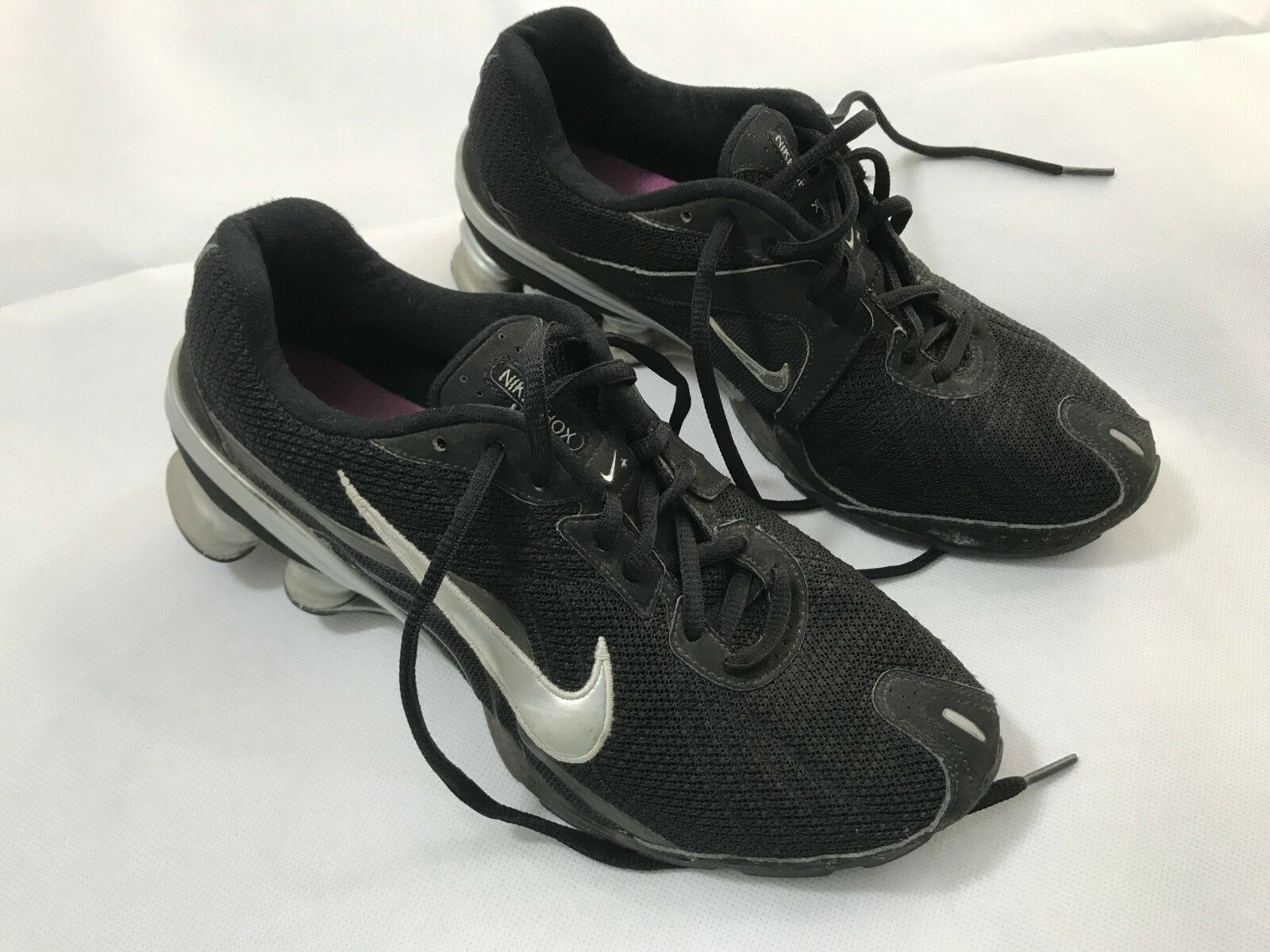 quality design 4f5e6 6eda8 Women s Nike Shox Vivify 317541-002 Running Fitness Gym Training Shoes  Black 7.5