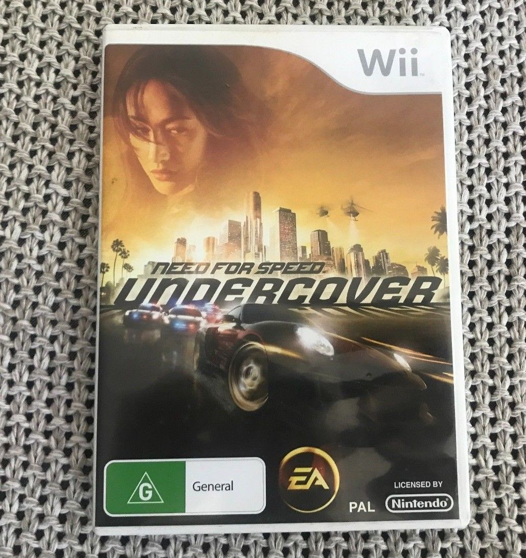 Need for Speed Undercover Nintendo Wii PAL System Complete + Manual