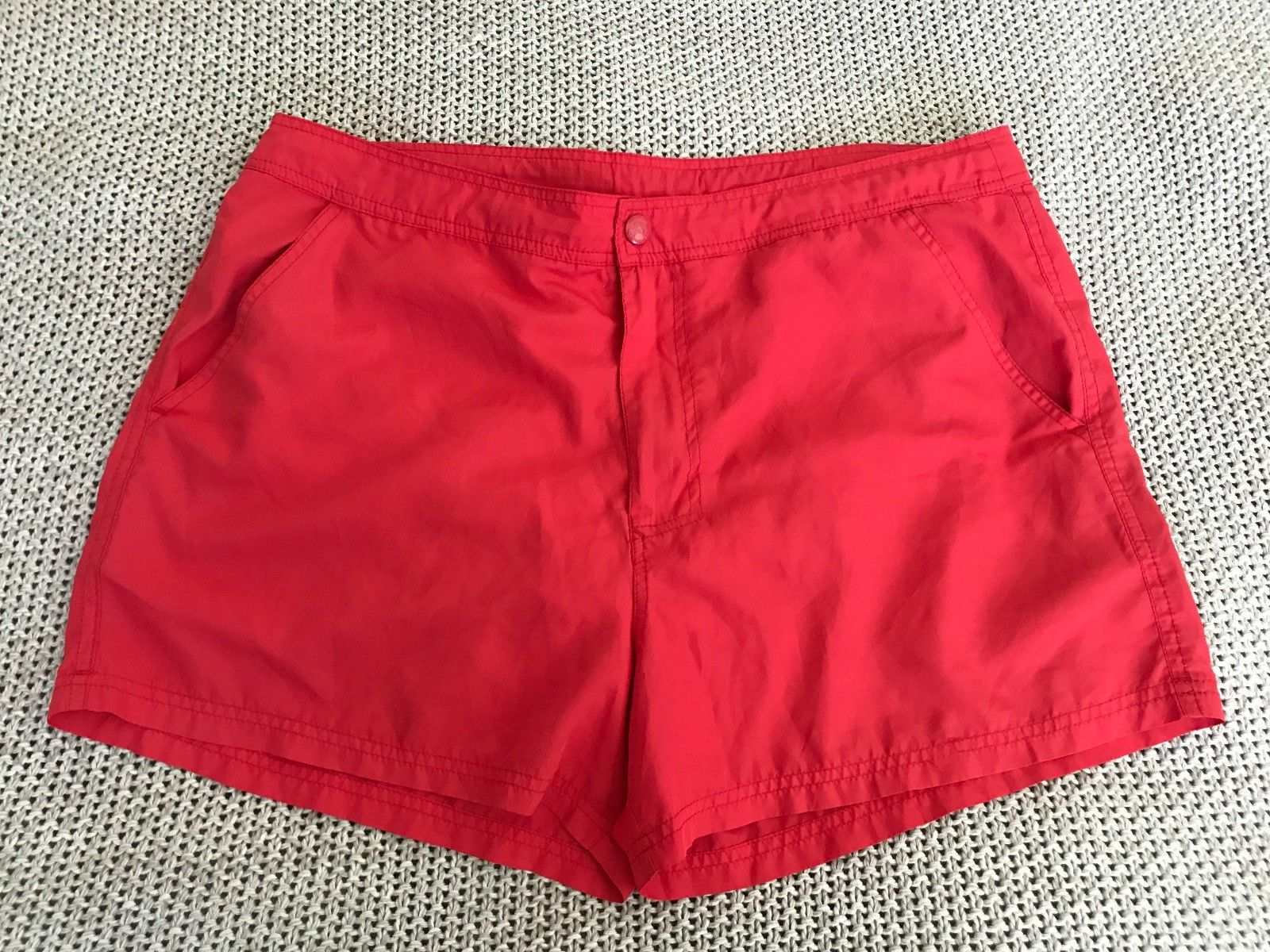 Mens ZARA MAN Casual Beach Board Shorts Surf Swim Wear Swimmers Red 34 –  Snatch A Bargain 24 7 5779552b708