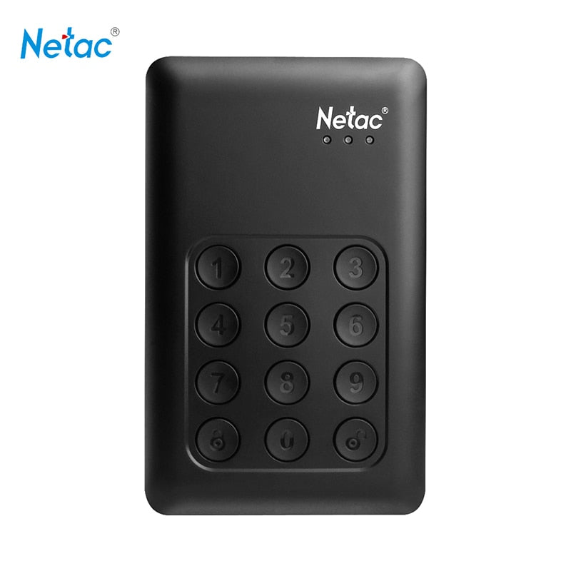 Ntac K390 Encryption HDD 2.5 external Portable Hard Drive 500GB 1TB 2TB disco duro externo hd for computer laptop harddisk