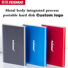 Load image into Gallery viewer, Custom logo Portable External Hard Drive USB 3.0 120g 500g 1TB 2TB Storage HDD External HD Hard Disk for PC,Mac,Tablet,Xbox,PS4
