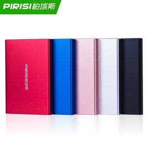 PIRISI Portable External Hard Drive Disco duro externo USB3.0 Disque dur externe for PC, Mac,Tablet, Xbox, PS4,TV box
