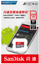 Load image into Gallery viewer, SanDisk 100% Original micro sd 512G 400G 256G 200G 128GB 64GB 32GB 16GB  TF  memory card microsd class10 Original Product