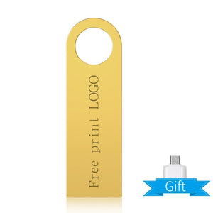 usb flash drive 2.0 usb flash 2.0 32 gb 128 gb Metal  4GB 8GB 16GB 32GB 128GB pen drive sd 64gb flash memory card FREE LOGO