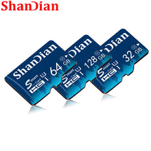 Load image into Gallery viewer, New SHANDIAN Memory Card 128GB 64GB Smart SD Card Class 10 flash card 8GB 16GB 32GB Memory Smartsd TF Card for Tablet
