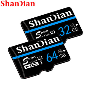 ShanDian 2015 memory card Micro sd card 32gb class 10 32GB 64GB 16GB 8GB tf card microsd pen drive flash memory disk for SmartPh