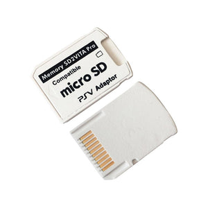5.0 SD2VITA Adapter Professional Small Size Version For PS Vita Memory TF Card for PSVita Game Card1000/2000 PSV Adapter
