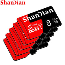 Load image into Gallery viewer, SHANDIAN Smast sd card 128gb 64gb Smast sd 32gb Mini Card 16gb Class 10 for samrtphone and table PC 100% Original Memory Card