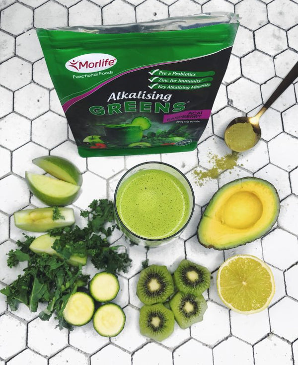 ALKALISING MORLIFE GREEN SMOOTHIE