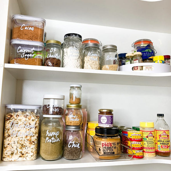 New Year New Pantry – Tips for pantry organisation on a budget!
