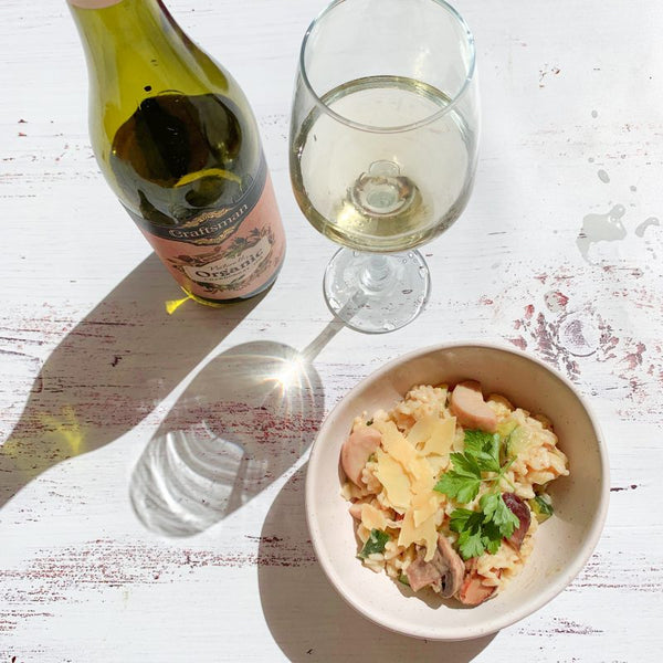 CRAFTSMAN ORGANIC WINE & RISOTTO – THE PERFECT COMBINATION