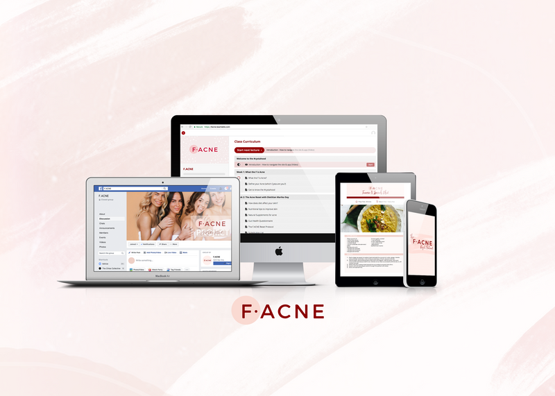 NEW! Personalised F.ACNE Coaching Program - Unrefinedbynicola