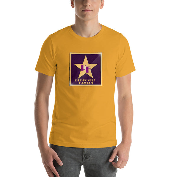 Purposely Famous Star of Fame Short-Sleeve Unisex T-Shirt