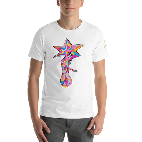 Star Woman Short-Sleeve Unisex T-Shirt