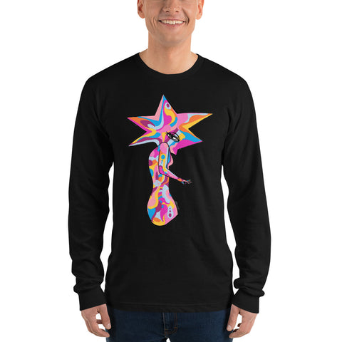 Star Woman Long Sleeve T-Shirt