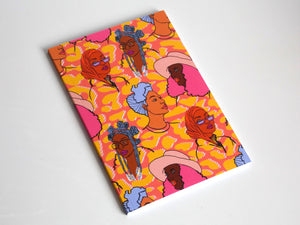 Babes Repeat Pattern Notebook