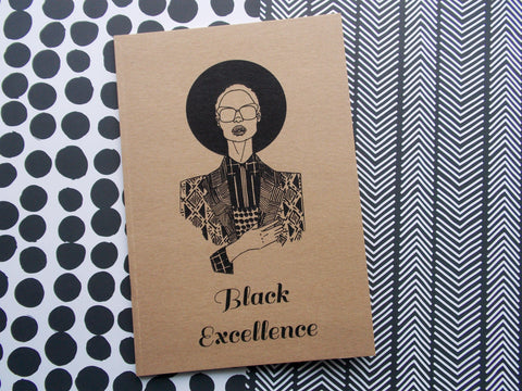 Black Excellence Notebook