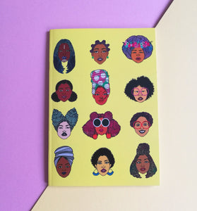 Black Hair Magic Notebook