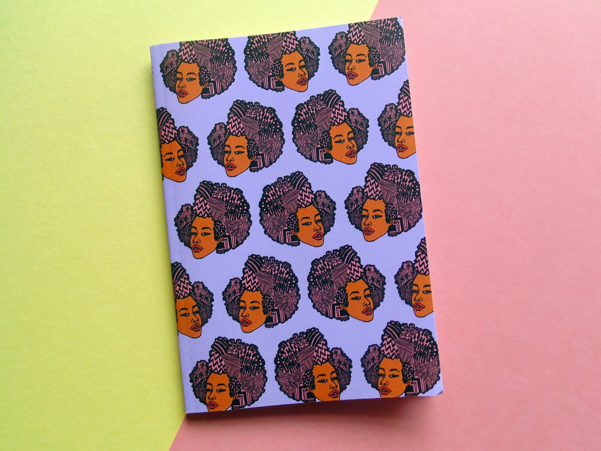 Logo Patterned Notebook