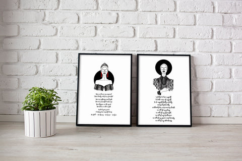 Pledge & Be Free Print Set