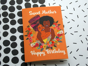 Sweet Mother Birthday Card