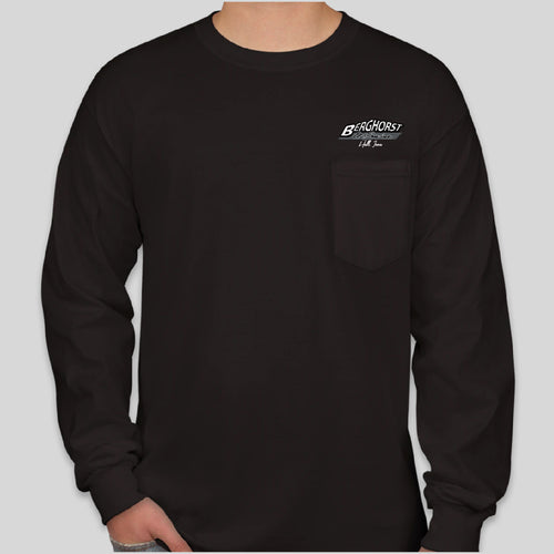 Gildan POCKET Long Sleeve (+colors) | Berghorst