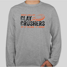 Load image into Gallery viewer, Gildan Softstyle Long Sleeve SPORT GREY - Clay Crushers