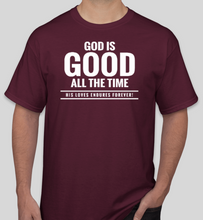Load image into Gallery viewer, Western Christian Theme Shirts - Maroon