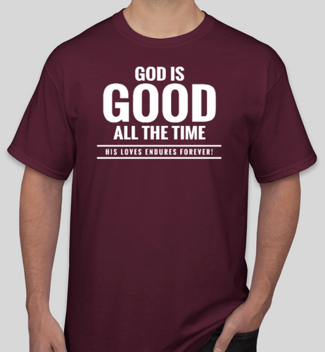 Western Christian Theme Shirts - Maroon