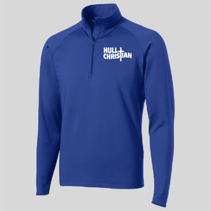 HCS EMBROIDERED Sports Tek POLY MENS Pullover ROYAL