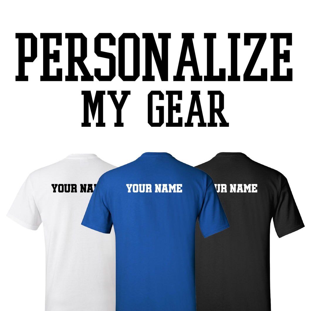 PERSONALIZE ANY GEAR