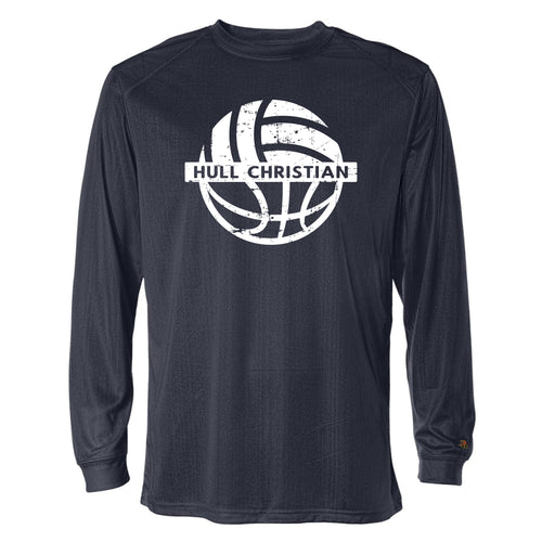 Badger B Core Long Sleeve (HCS Basketball & Volleyball WARM UP)