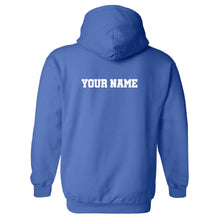 Load image into Gallery viewer, Hockey Words Stacked GILDAN HOODED SWEATSHIRT +more color options