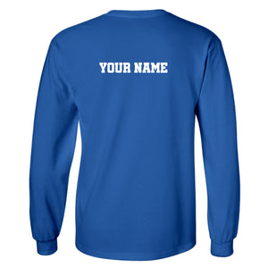 Hockey Words Stacked GILDAN LONG SLEEVE +more color options
