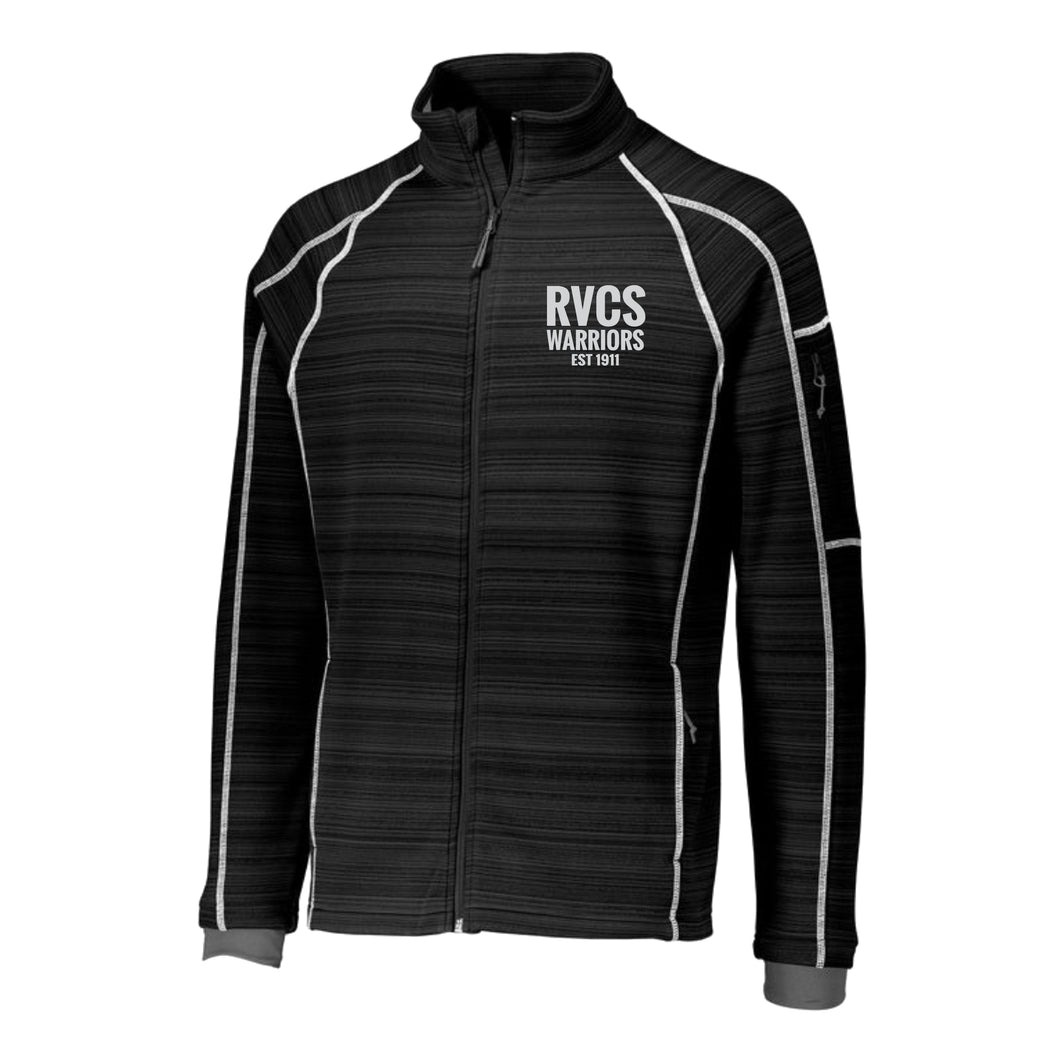 RVCS Mens Deviate Full Zip Jacket