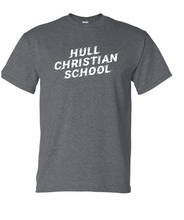Load image into Gallery viewer, Hull Christian School Gildan Short Sleeve Shirt - Youth & Adult