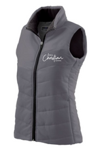 Load image into Gallery viewer, Hull Christian - LADIES VEST (BLACK, GREY, NAVY)