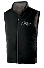 Load image into Gallery viewer, HULL CHRISTIAN - MENS VEST (BLACK OR GREY)
