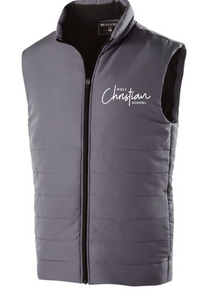 HULL CHRISTIAN - MENS VEST (BLACK OR GREY)