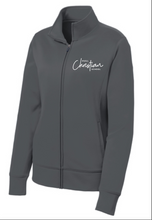 Load image into Gallery viewer, Hull Christian School Sport-Tek® Ladies Fleece Full-Zip Jacket