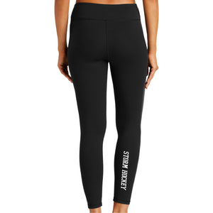 Storm Hockey High Rise Ladies Leggings