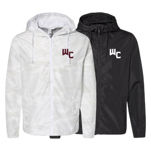 Independent WC Windbreaker Unisex Fit (Black or White Camo)