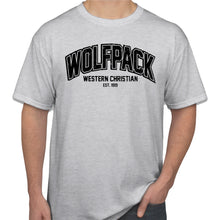 Load image into Gallery viewer, WOLFPACK Gildan Crew SS Tshirt Ash Grey