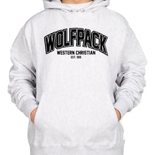 Load image into Gallery viewer, WOLFPACK Champion Reverse Weave Hooded Sweatshirt