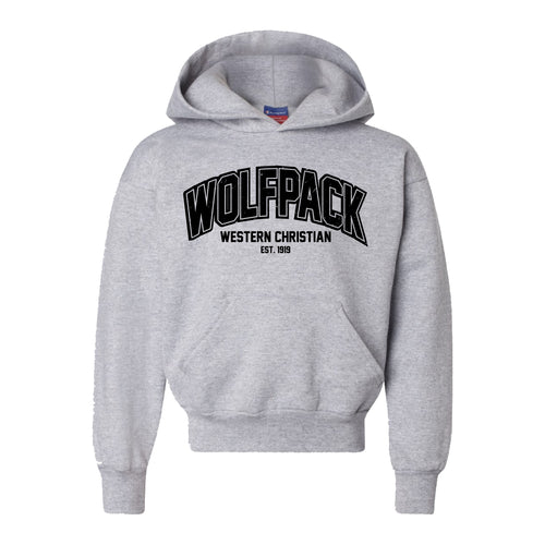 Wolfpack Champion Hooded Sweatshirt