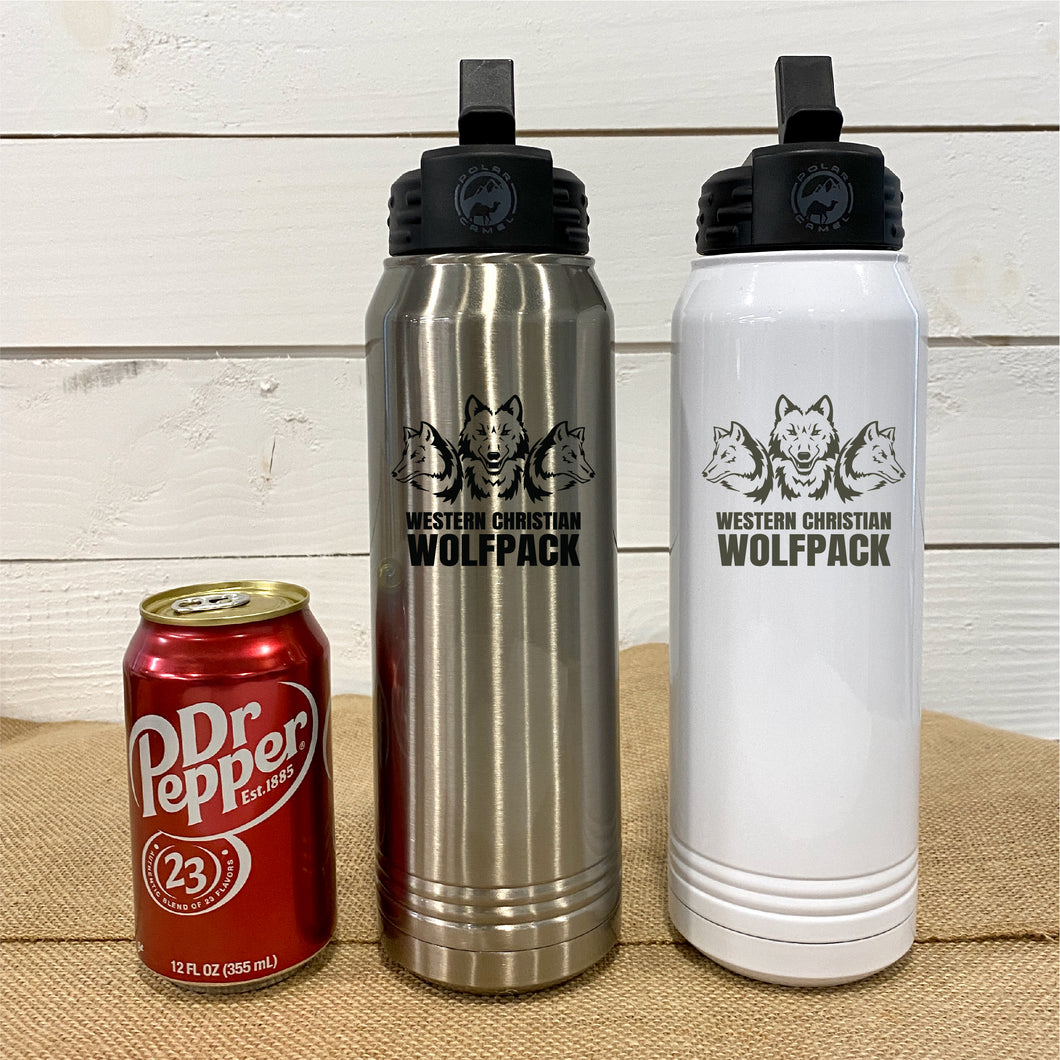 Polar Camel Insulated Water Bottle Western Christian